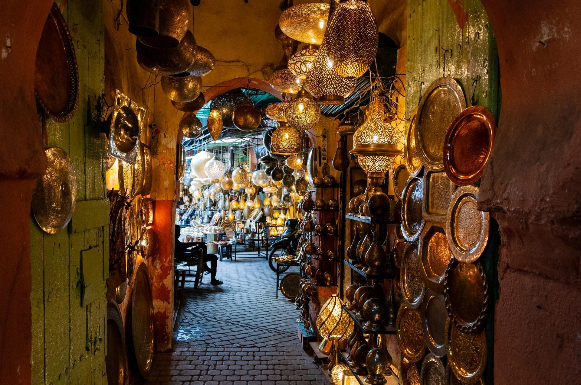 World's most marvellous market's: Marrakech Souk