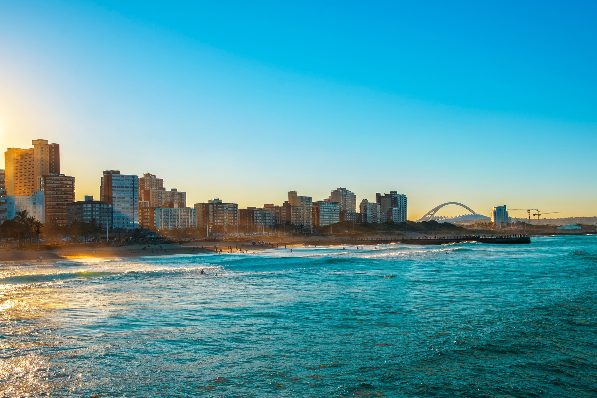 South Africa holidays: Durban's golden mile