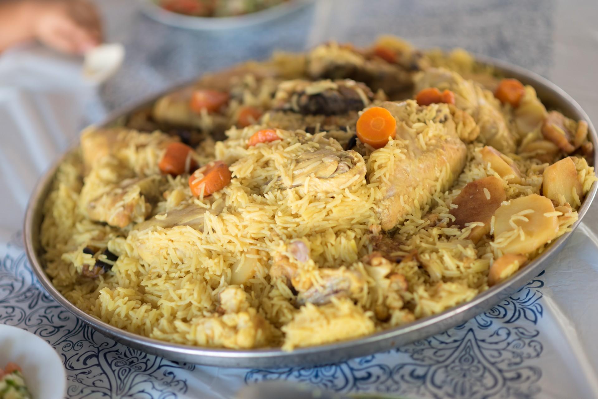 Jordan food tour - Maqluba