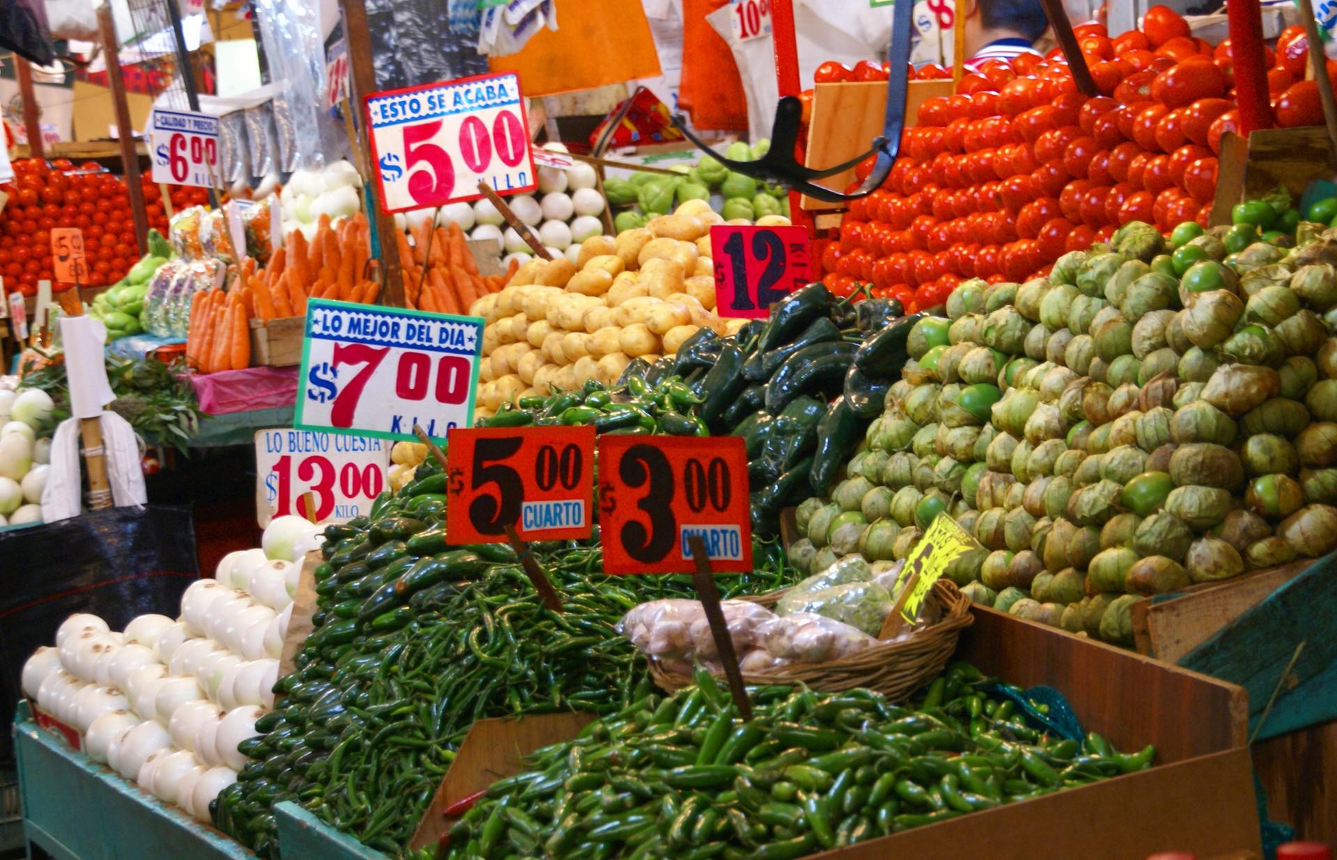 Wolrd's most marvellous markets: La Merced Market