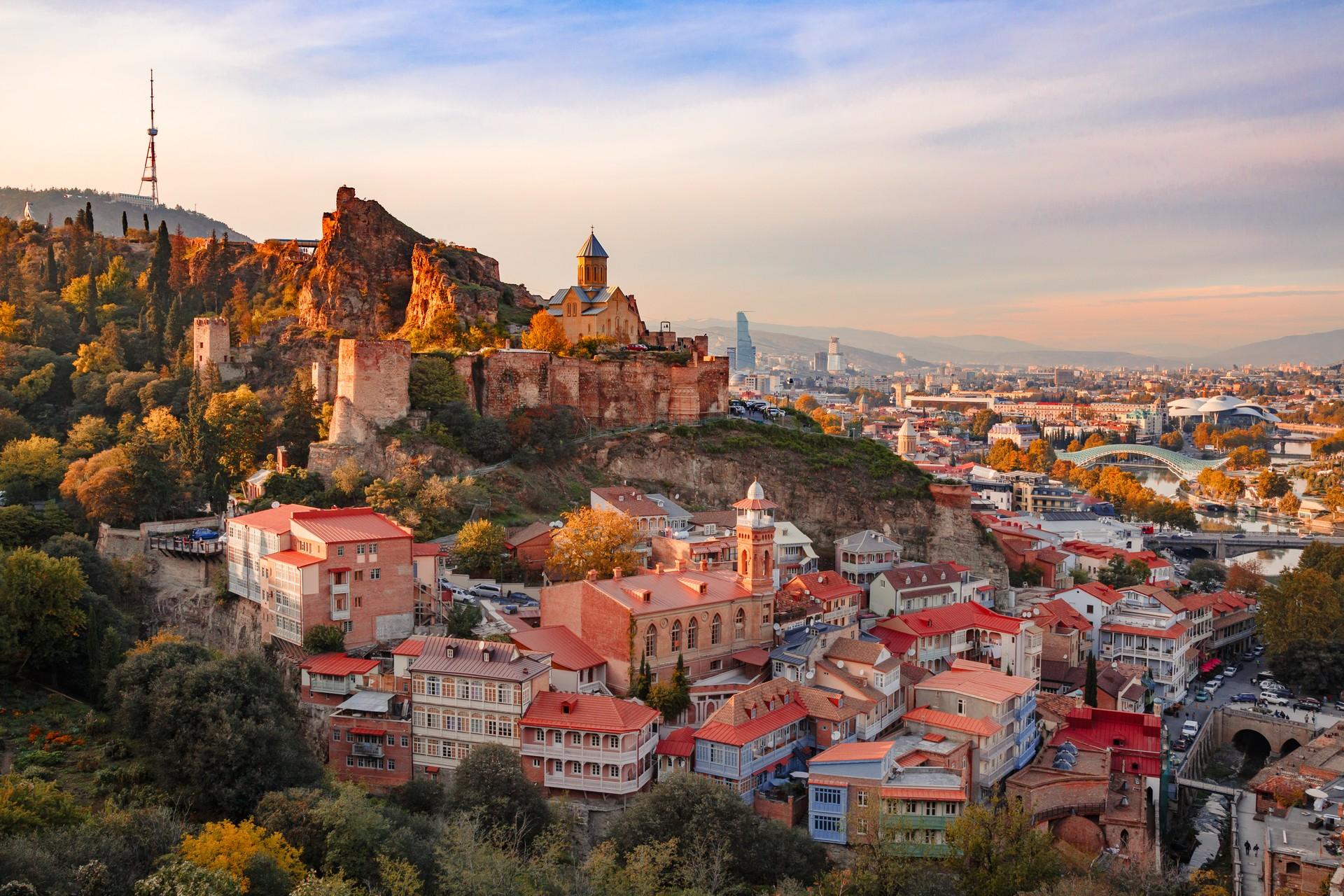 Tbilisi is Georgia's bustling capital city