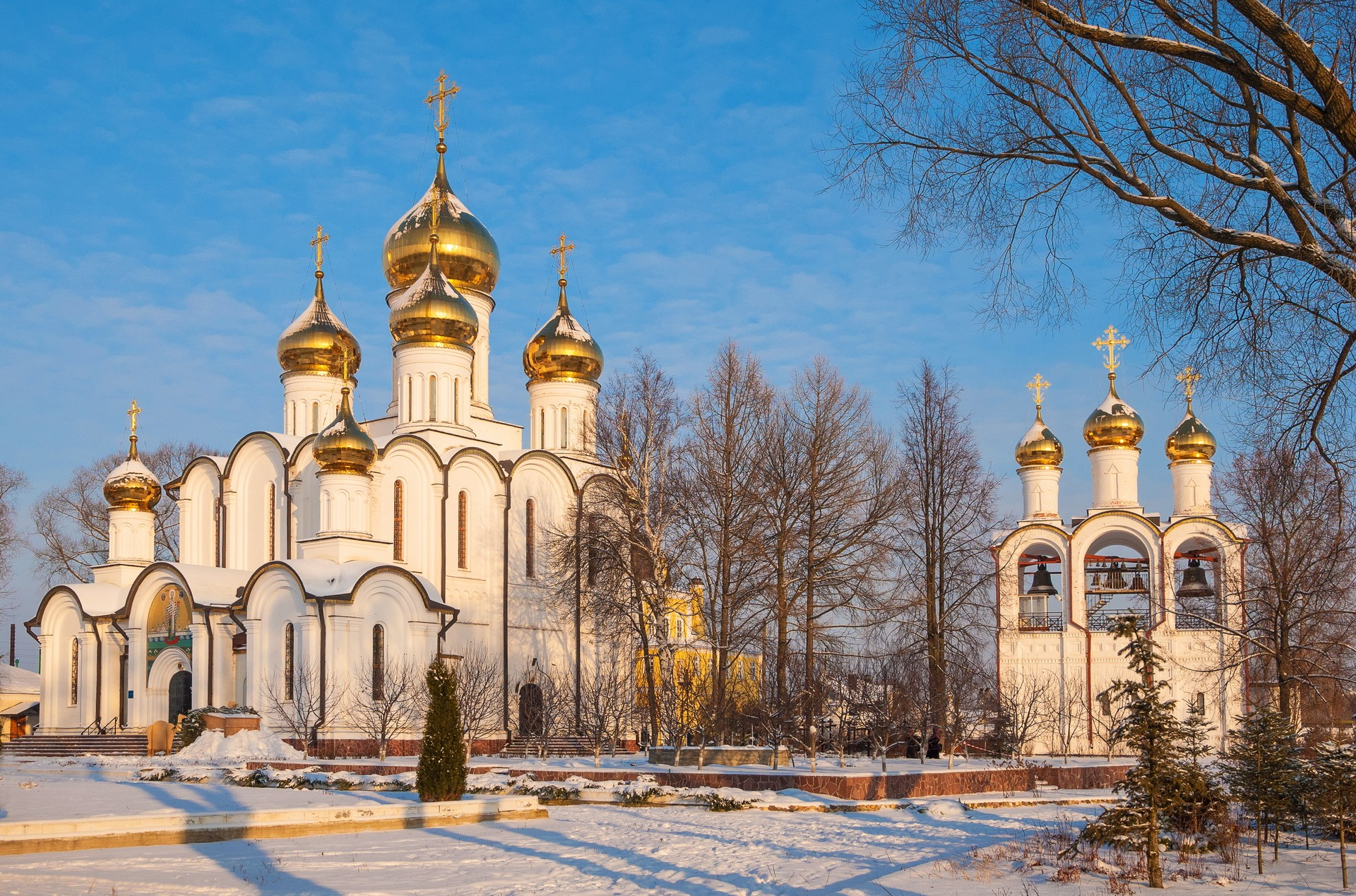 Pereslavl Zalessky Nikolsky monastery Russia