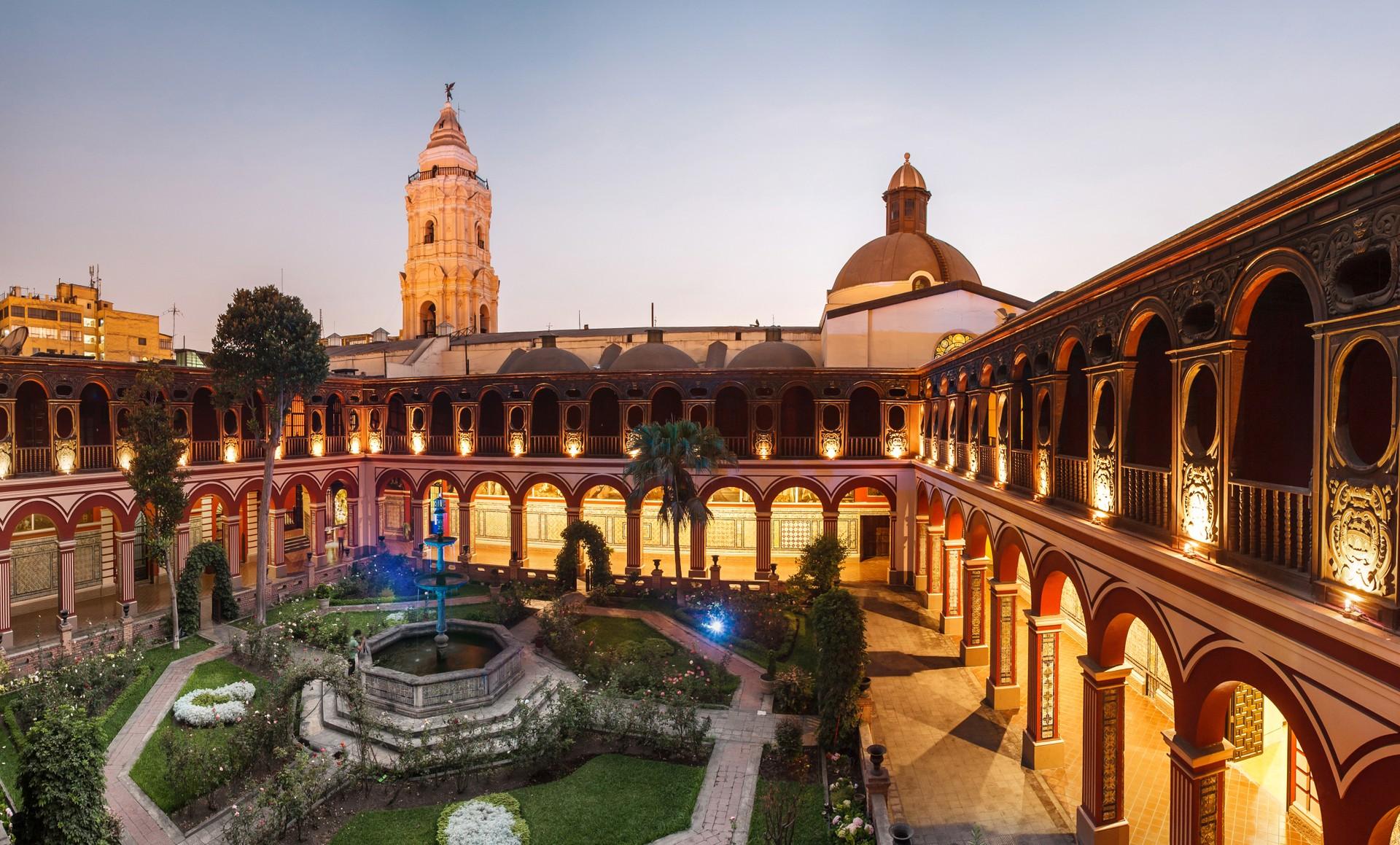Monastery in Lima, Peru