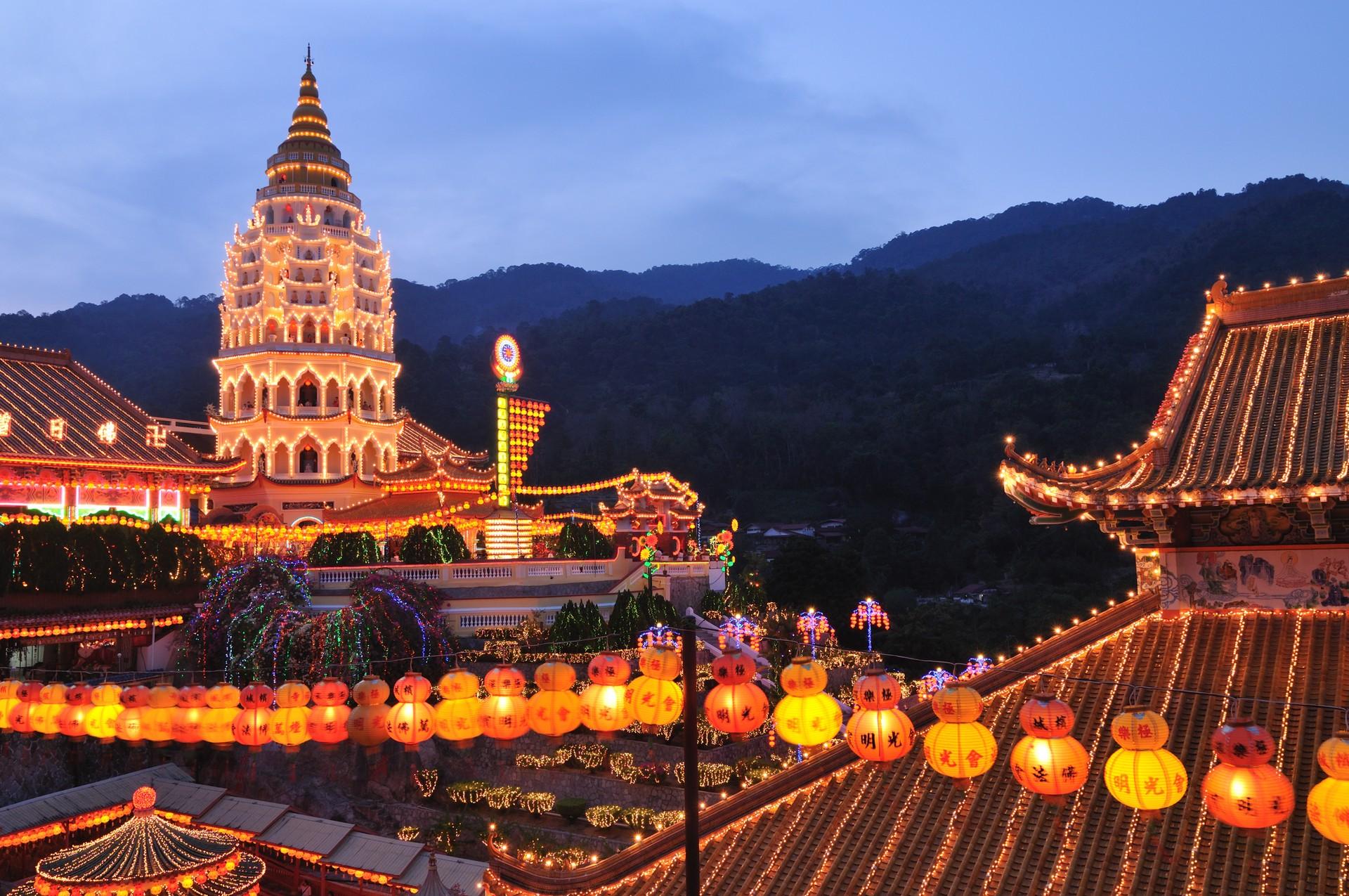 Kek Lok Si Temple in Penang