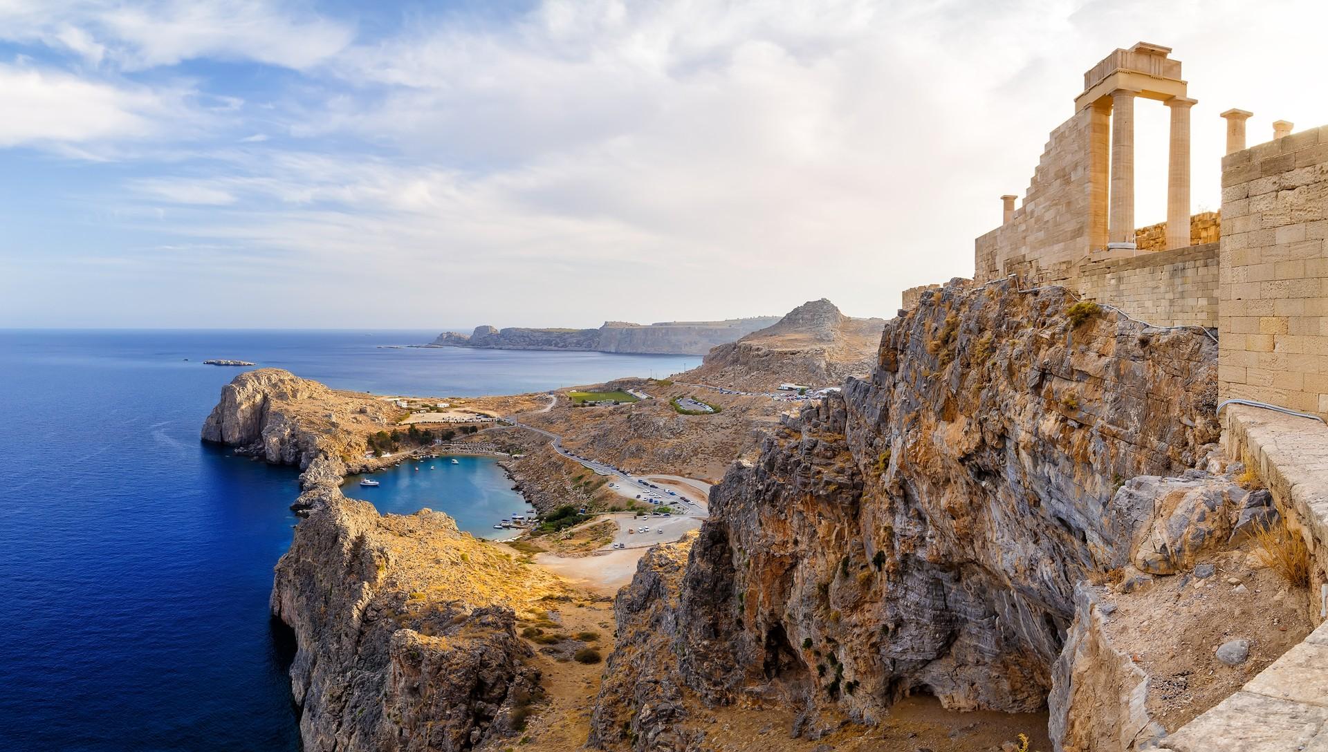 Rhodes, island in Greece
