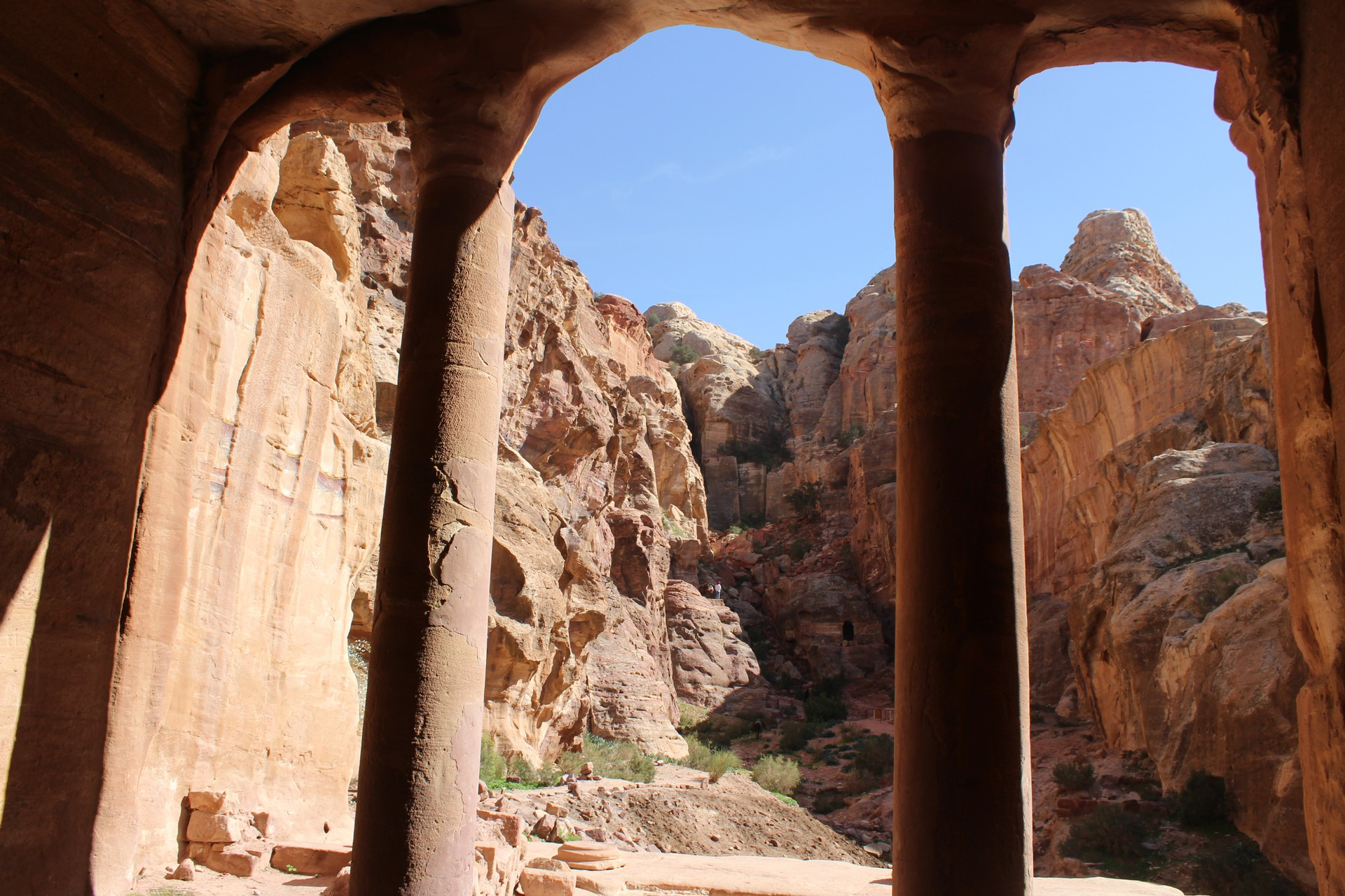 Garden Triclinium in Petra, Jordan
