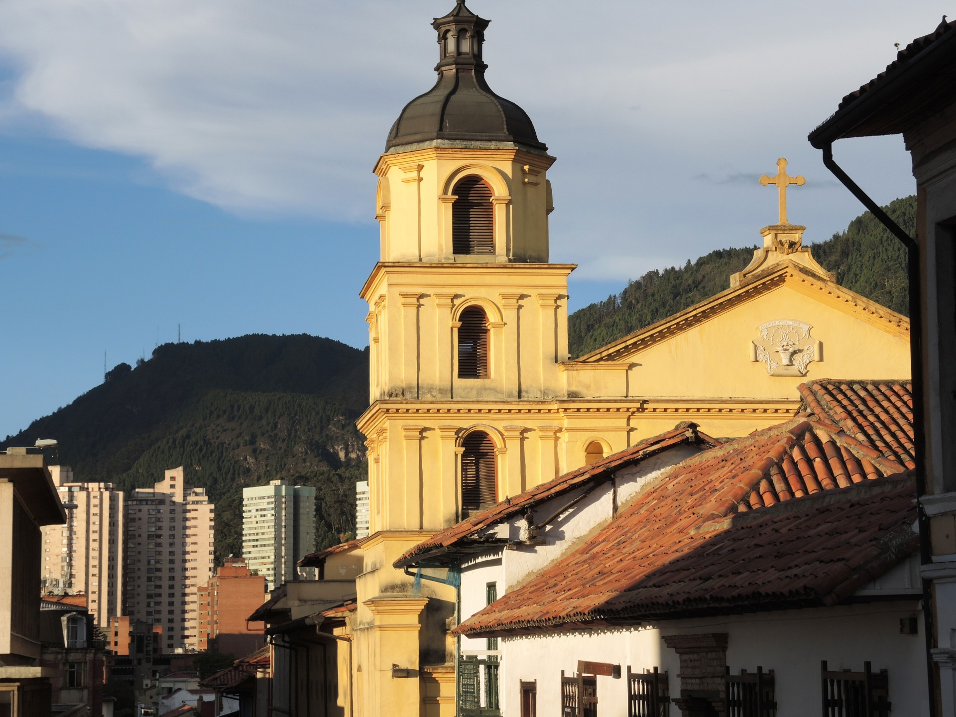Bogotá is the capital city of Colombia