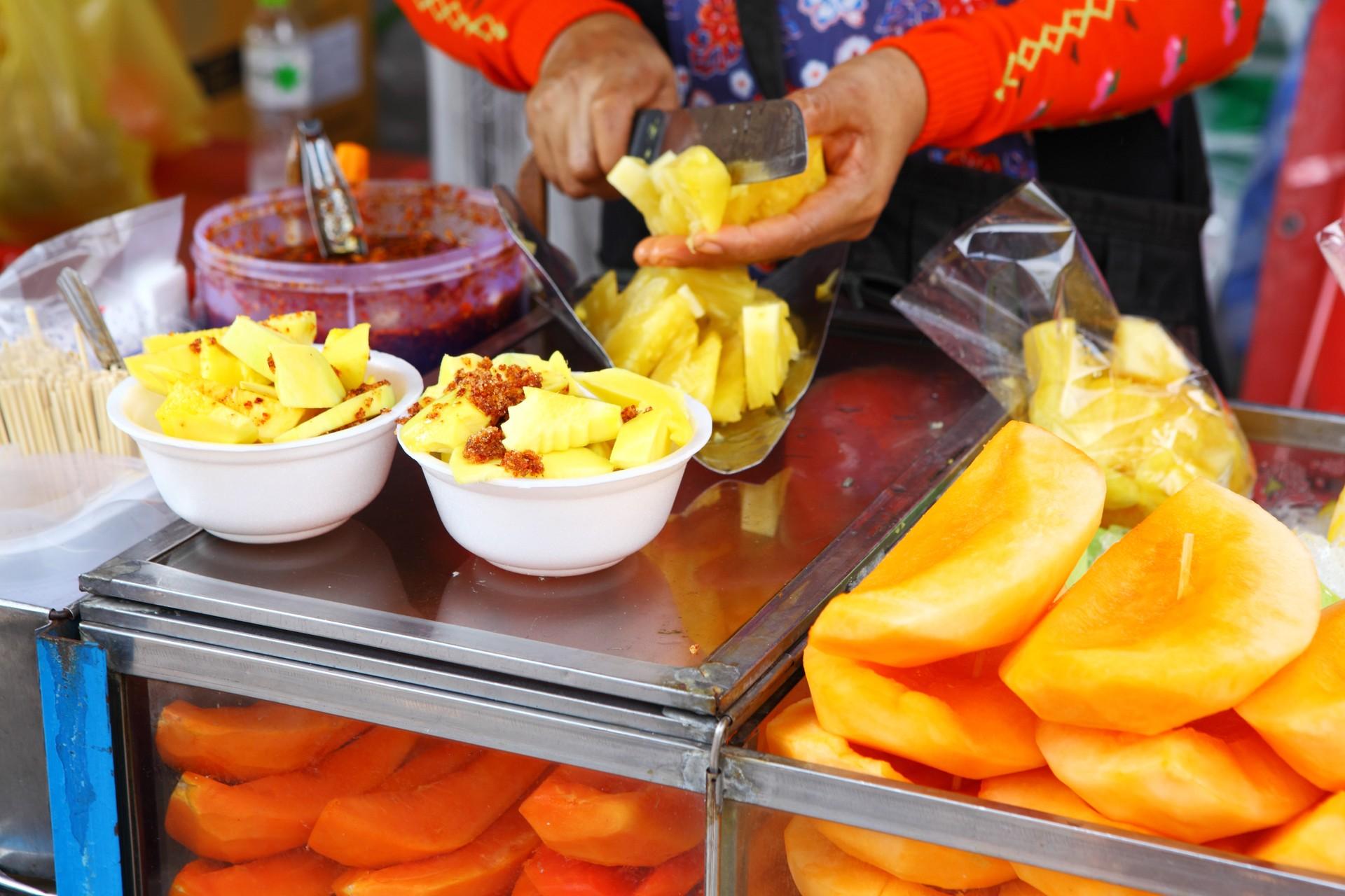 Mango fruit stall thailand