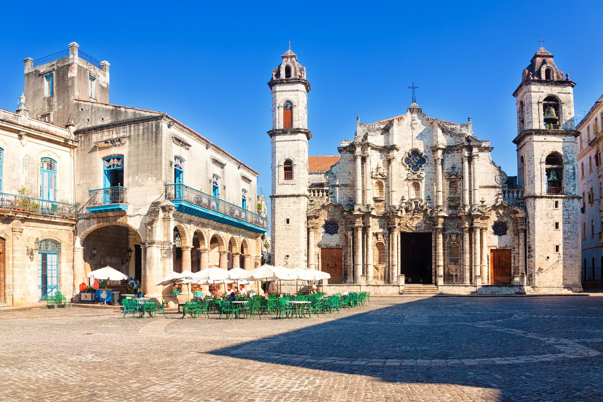 The Catedral de San Cristobal in Havana