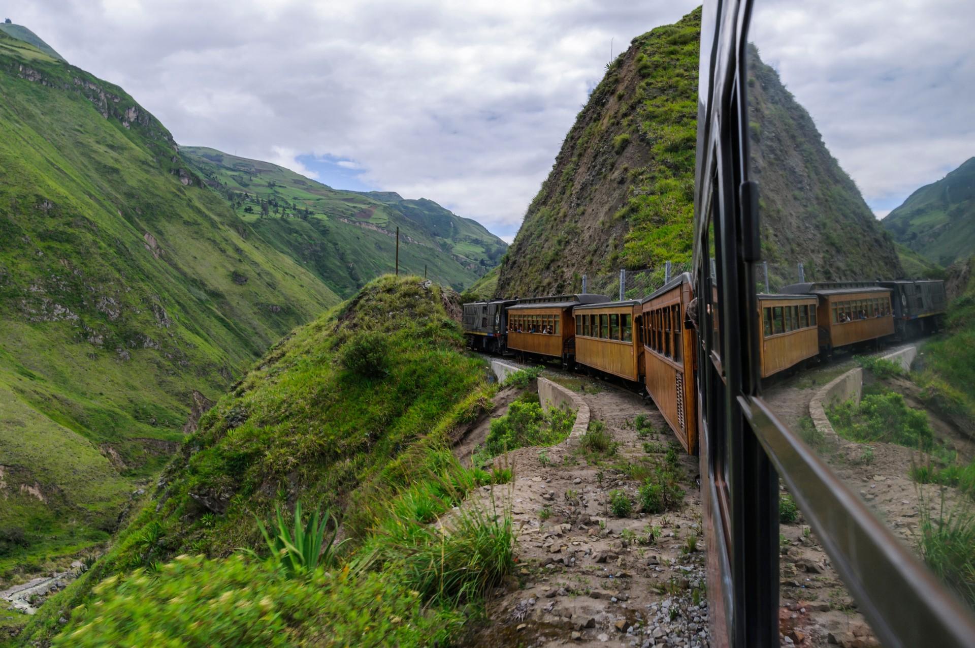 Top 10 scenic journeys: Devils Nose, Ecuador