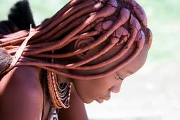 Himba woman at Epupa