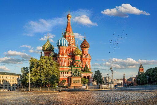 Moscow St Basil's Cathedral Russia