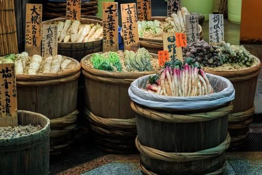 Nishiki market food
