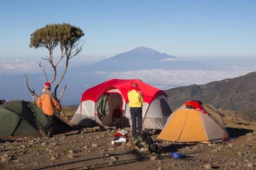 Camp on Kilimanjaro