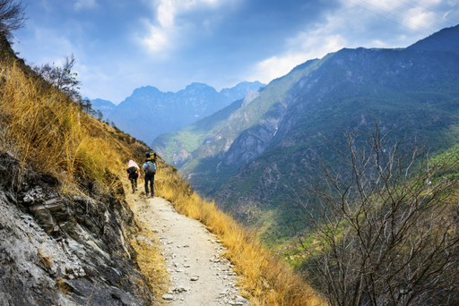 Hiking Tiger Leaping Gorge, China