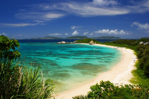 Okinawa beach, Japan