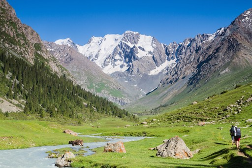 Hiking in Kyrgyzstan