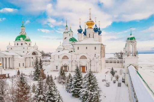 Golden Ring Russia winter snow