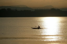 Fisherman on Lake Tana