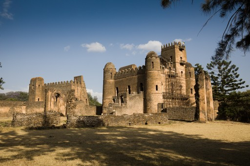 Gonder imperial castle Ethiopia