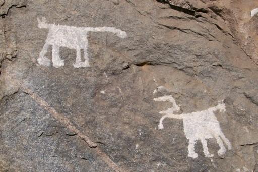 Rock art in Dedza