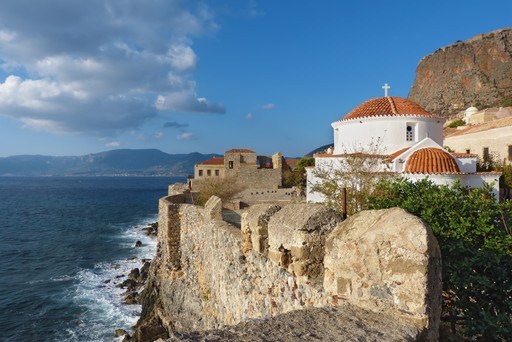 Byzantine church Peloponnese Greece