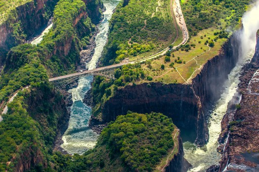Zambezi river Zimbabwe