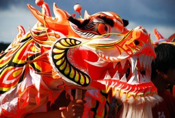 Dragon kite China
