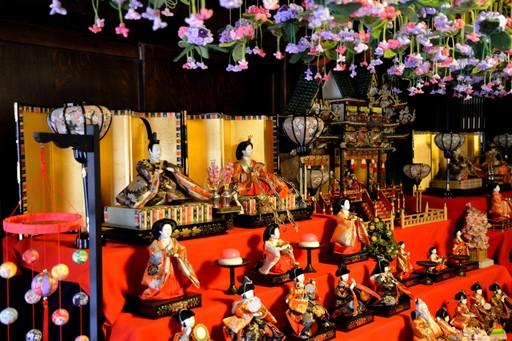 Hina Matsuri doll display