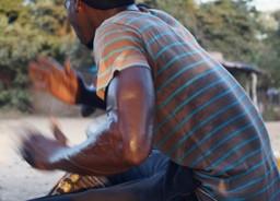 Drummer in Dakar, Senegal