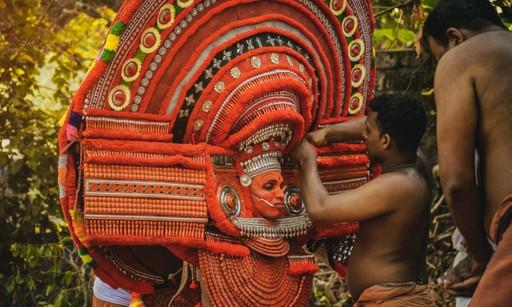 Kerala Theyyam festival