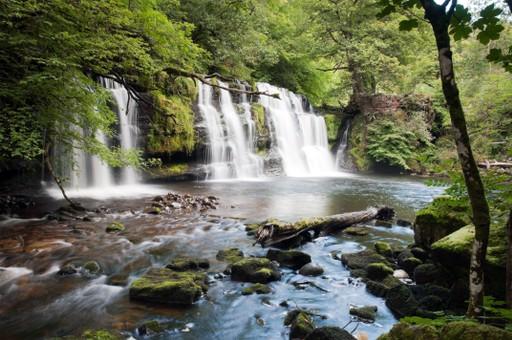 Wales holidays: Brecon Beacons waterfall walk