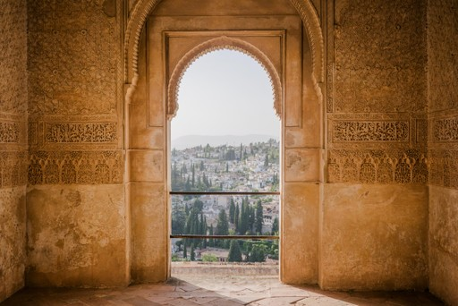View from Alhambra, Spain