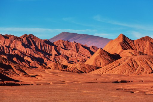 Stunning landscapes around Salta Argentina