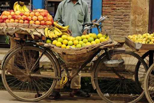 Fruit stall in Bhaktapur