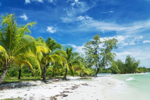 Island beach Koh Rong Cambodia