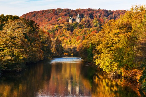Wales holidays: Autumn at castle coch