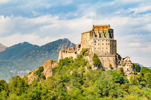 Italy holidays: Castle in Piedmont
