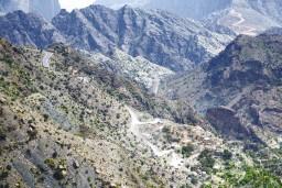 Jebel Akhdar Saiq Plateau in Oman