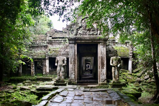 Temple at Angkor, Siem Reap
