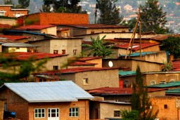 Rooftops in Kigali