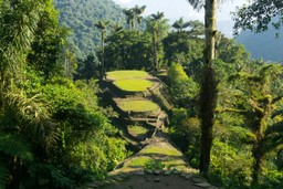 Ciudad Perdida ruins, Colombia