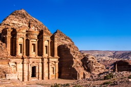 Petra on a sunny day