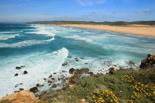 A beach on the Algarve
