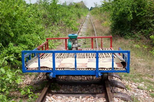 The Battambang Bamboo train