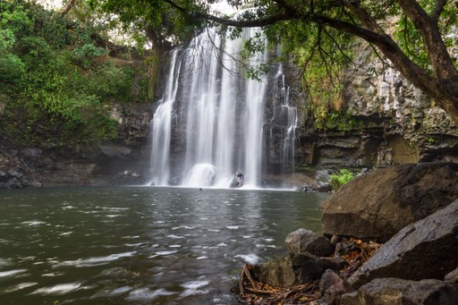Llanos del Cortez waterfall Costa Rica