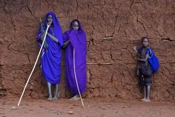 Ethiopian Tribesmen, Omo Valley, Ethiopia