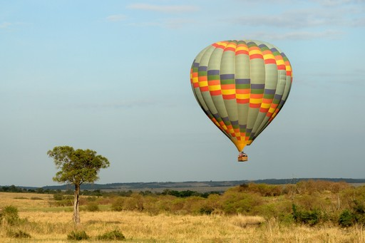 Hot air balloon safari Kenya