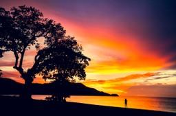 Sunset, Playa Potrero