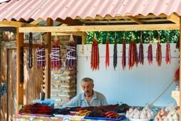 Marketstall in Tbilisi, Georgia